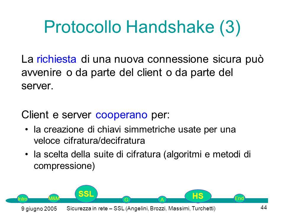 Protocollo Handshake (3)