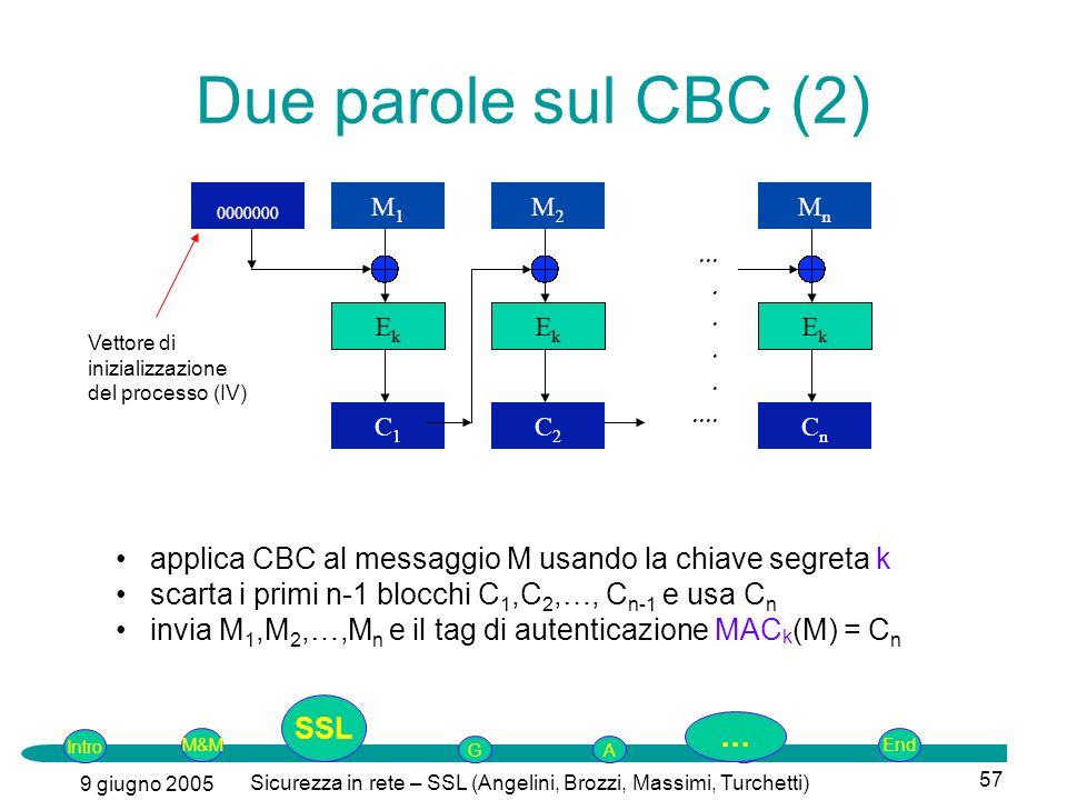 Sicurezza in rete – SSL (Angelini, Brozzi, Massimi, Turchetti)