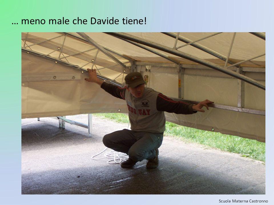 … meno male che Davide tiene!