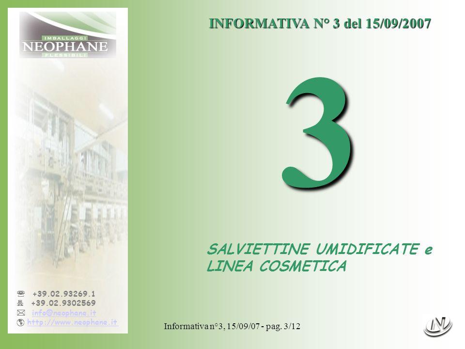 Informativa n°3, 15/09/07 - pag. 3/12