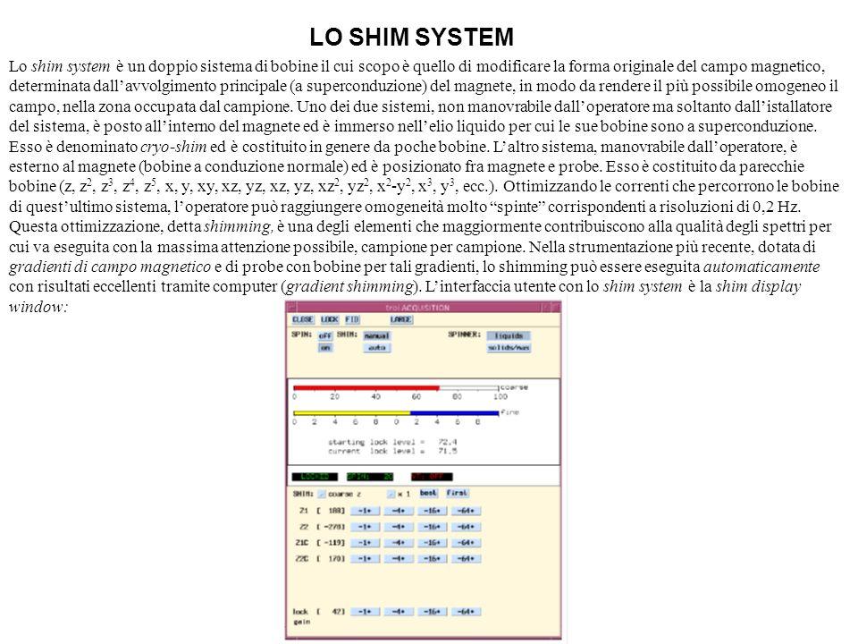 LO SHIM SYSTEM