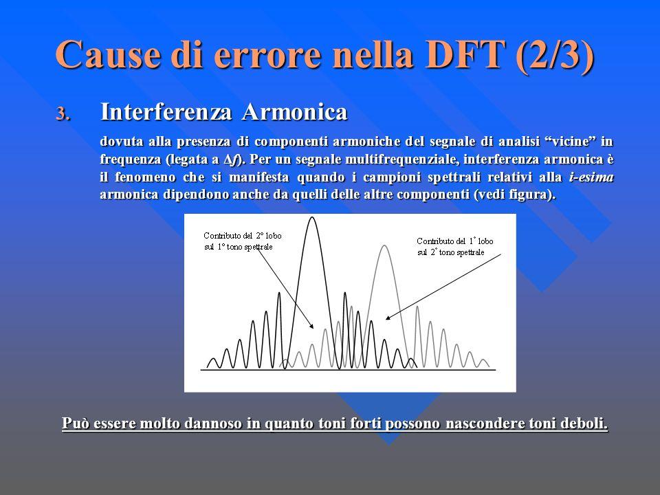 Cause di errore nella DFT (2/3)