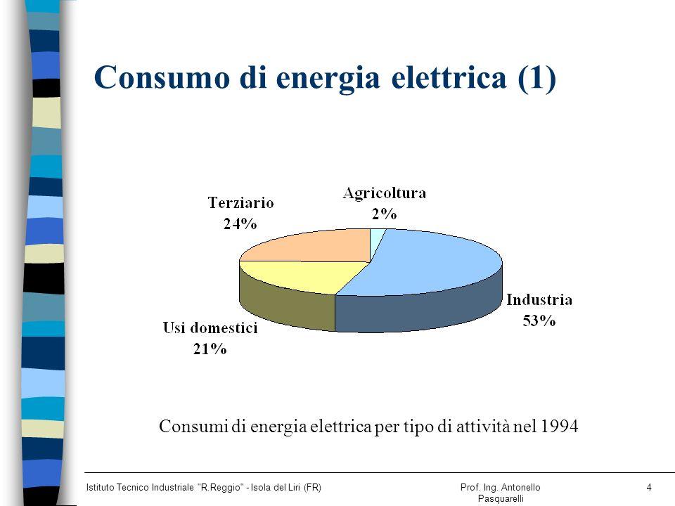 Consumo di energia elettrica (1)