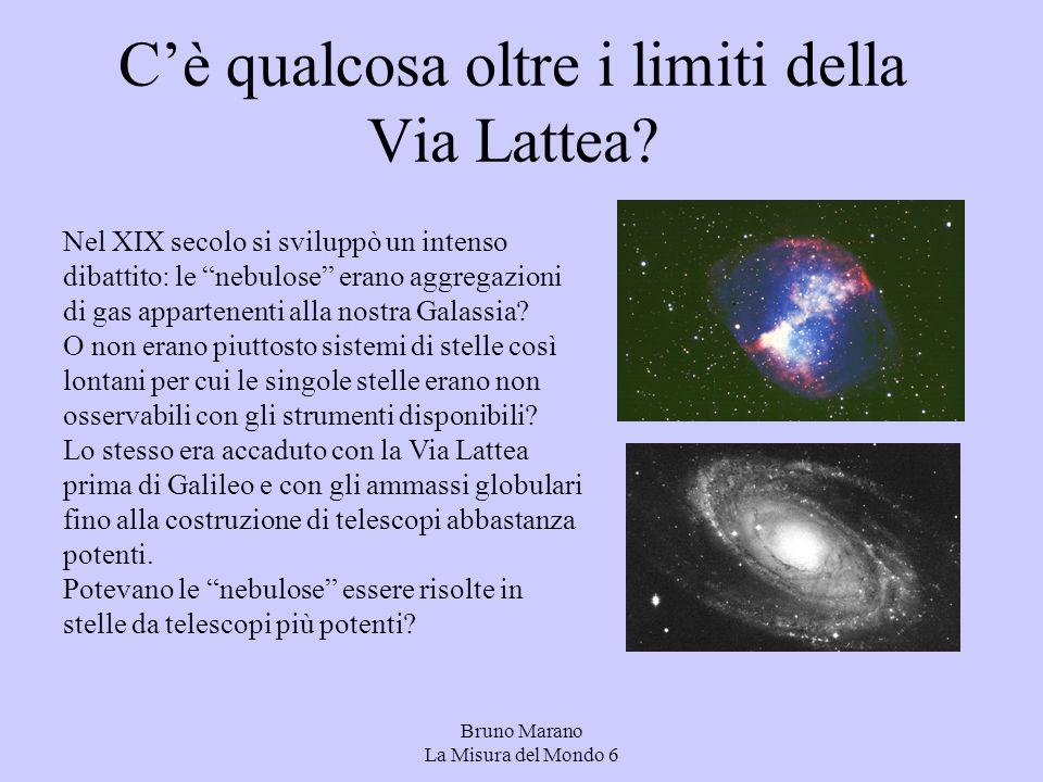 C'è qualcosa oltre i limiti della Via Lattea