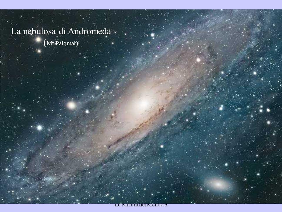 La nebulosa di Andromeda (Mt.Palomar)