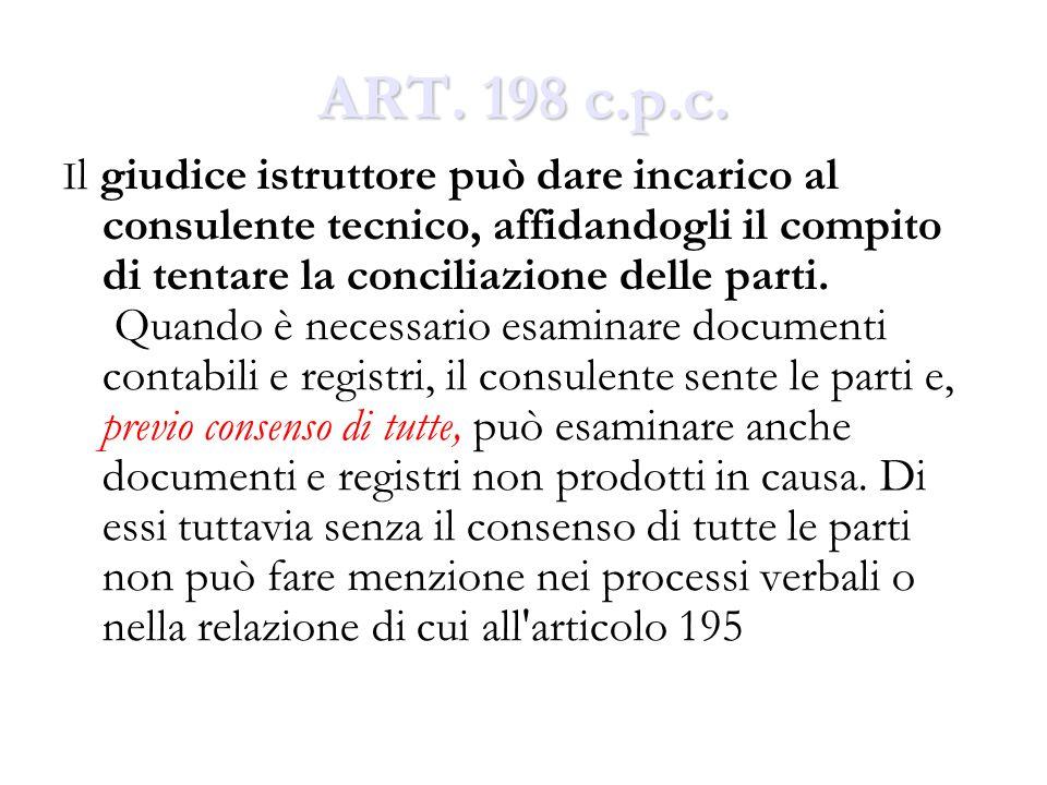 ART. 198 c.p.c.