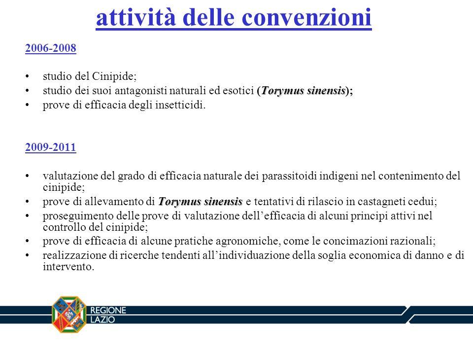 attività delle convenzioni
