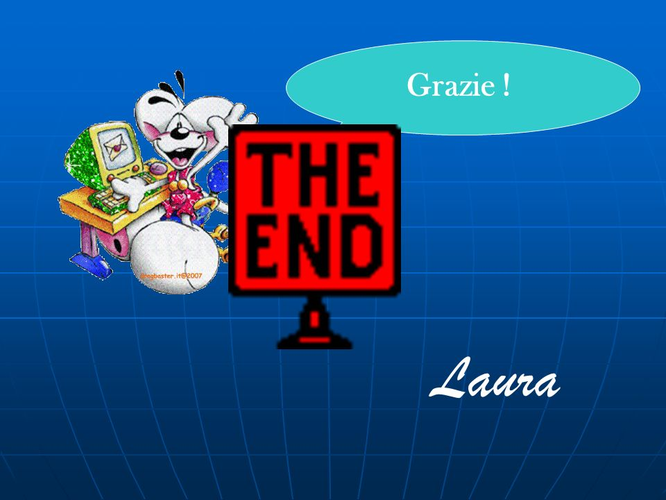 Grazie ! Laura