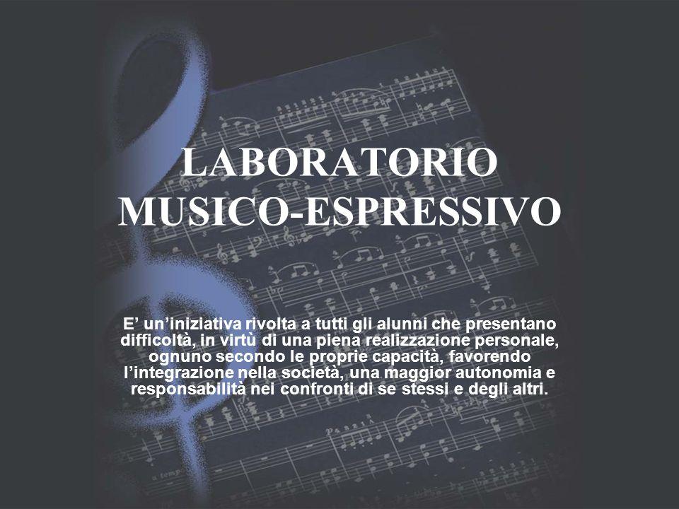 LABORATORIO MUSICO-ESPRESSIVO