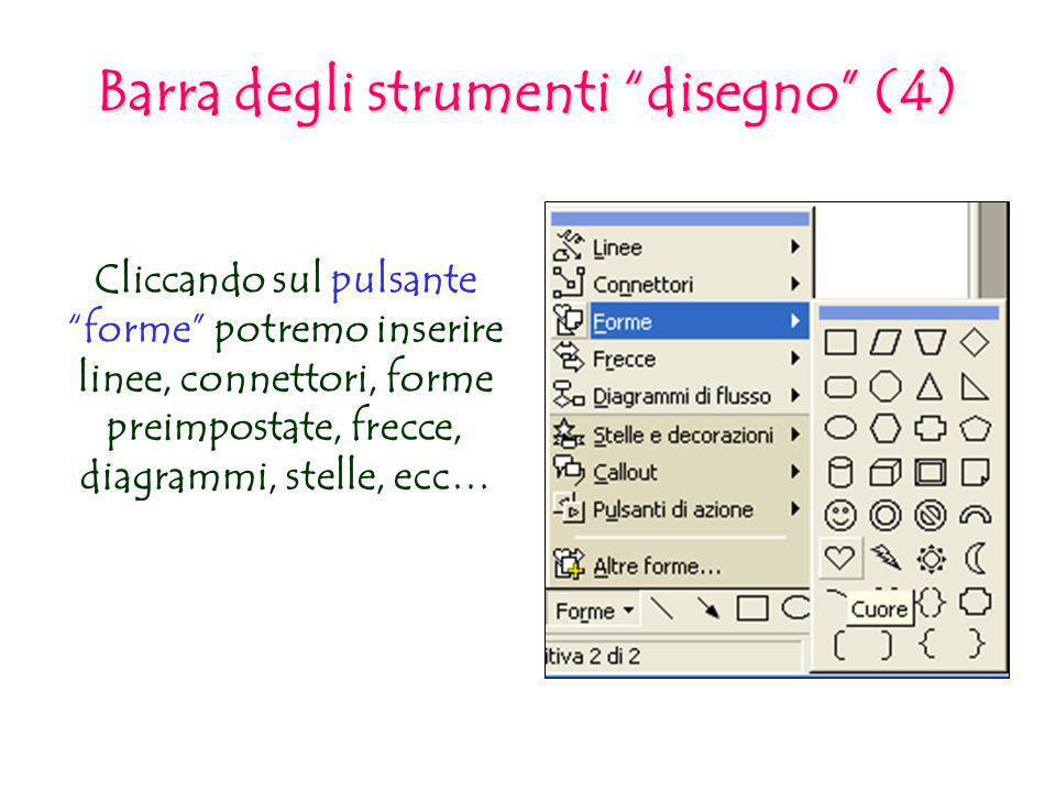 Barra degli strumenti disegno (4)