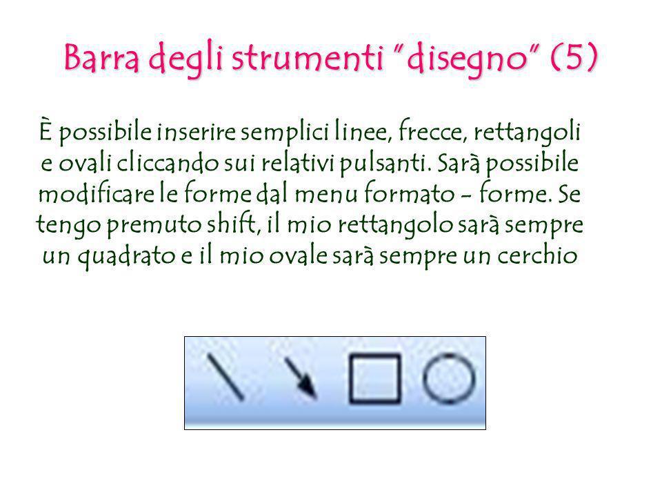 Barra degli strumenti disegno (5)