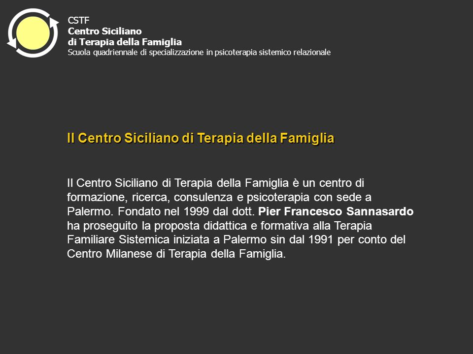 Il Centro Siciliano di Terapia della Famiglia