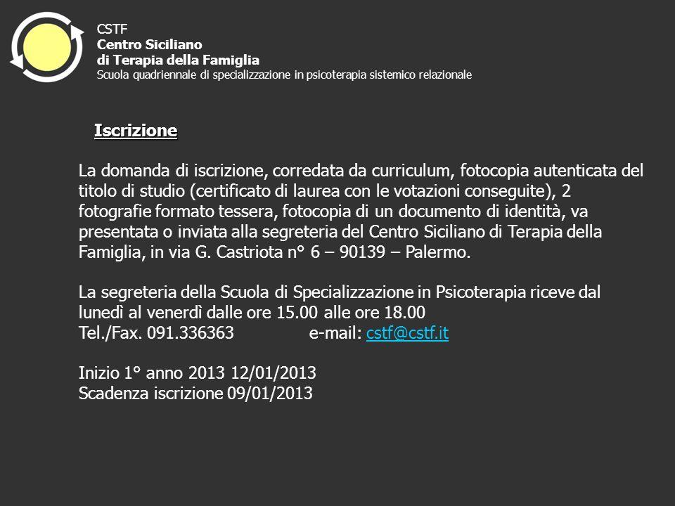 Tel./Fax. 091.336363 e-mail: cstf@cstf.it