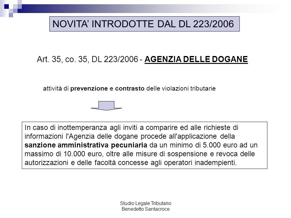 Studio Legale Tributario Benedetto Santacroce
