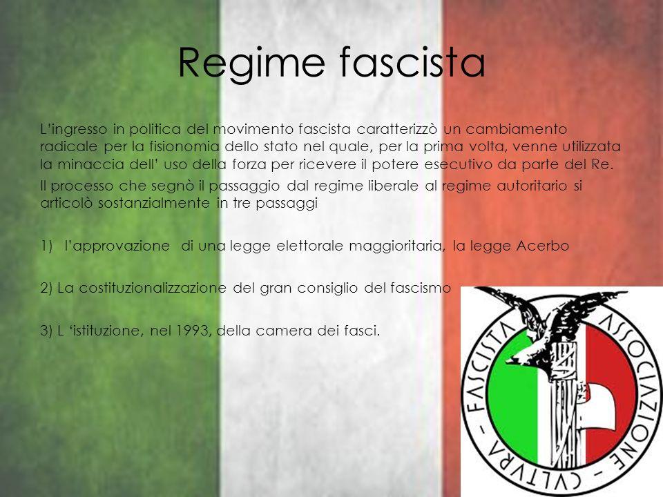 Regime fascista