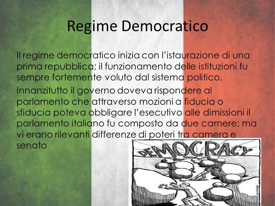 Regime Democratico