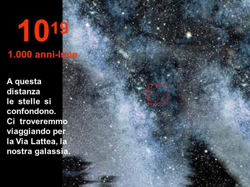 1019 1.000 anni-luce.