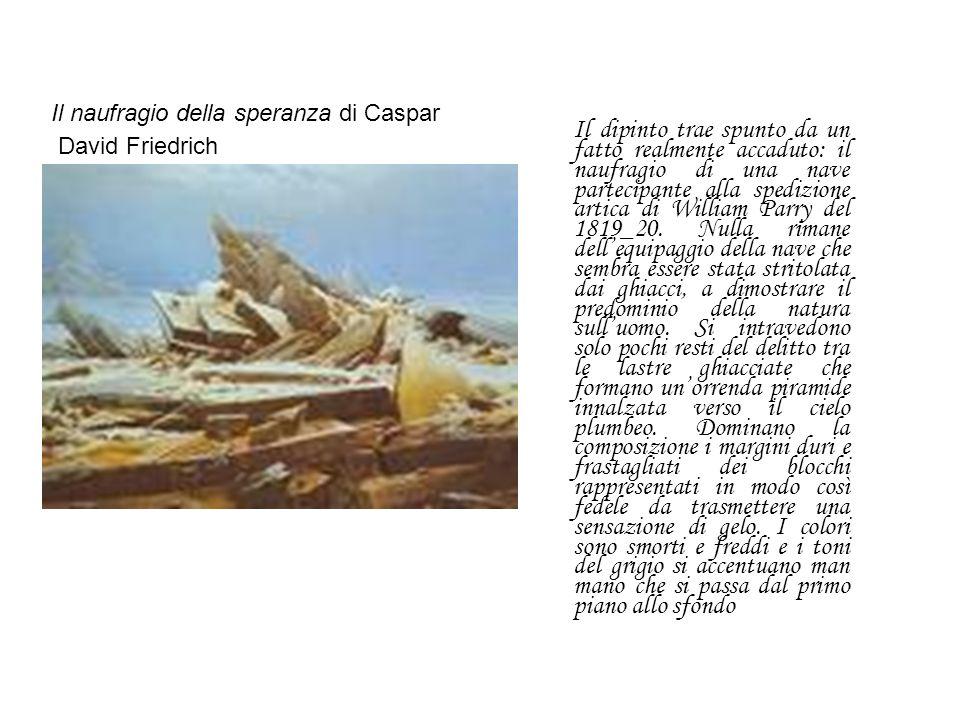 Il naufragio della speranza di Caspar