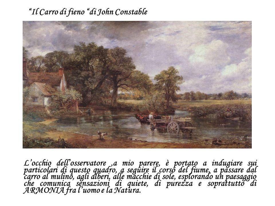 Il Carro di fieno di John Constable