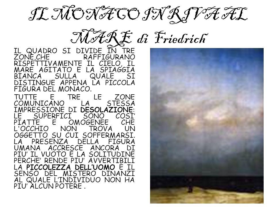 IL MONACO IN RIVA AL MARE di Friedrich