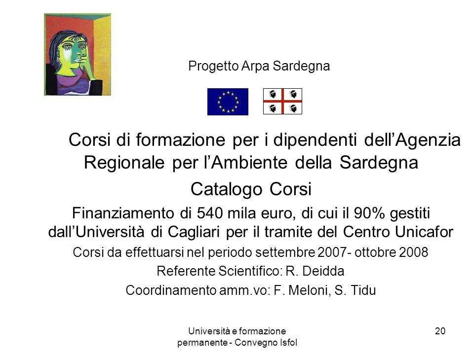 Progetto Arpa Sardegna