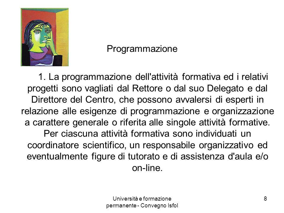 Università e formazione permanente - Convegno Isfol
