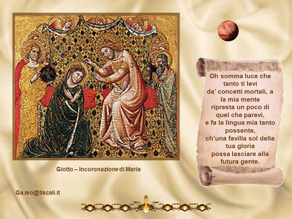 Giotto – Incoronazione di Maria