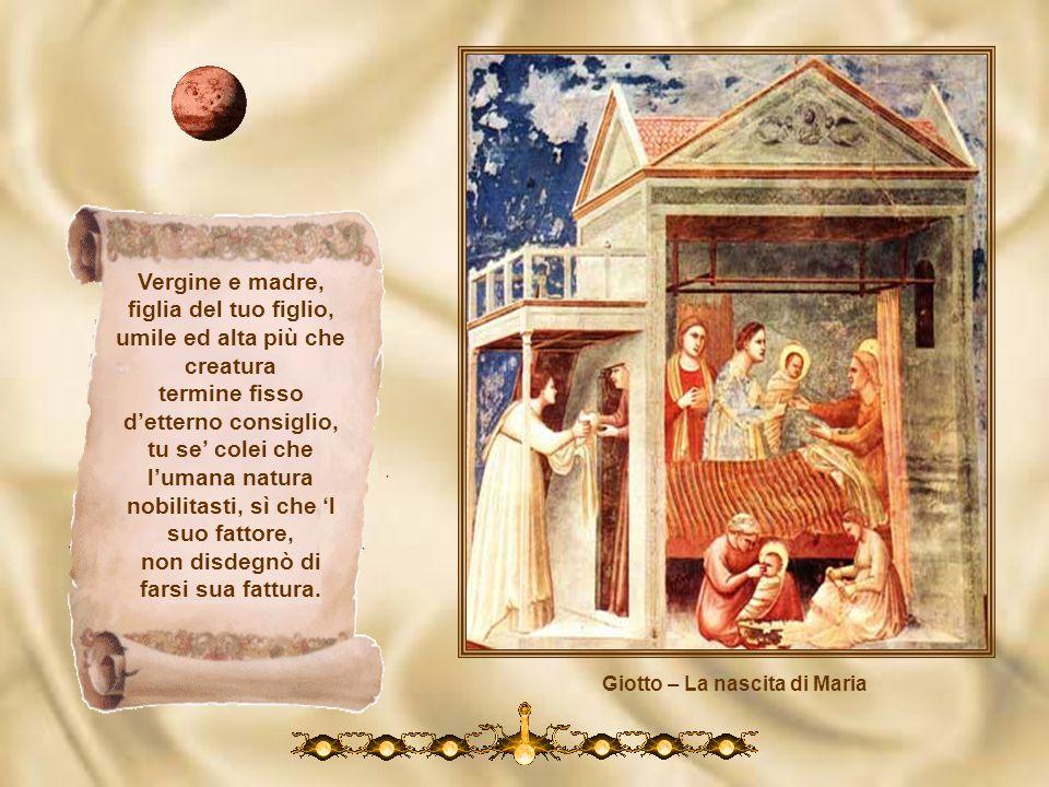 Giotto – La nascita di Maria