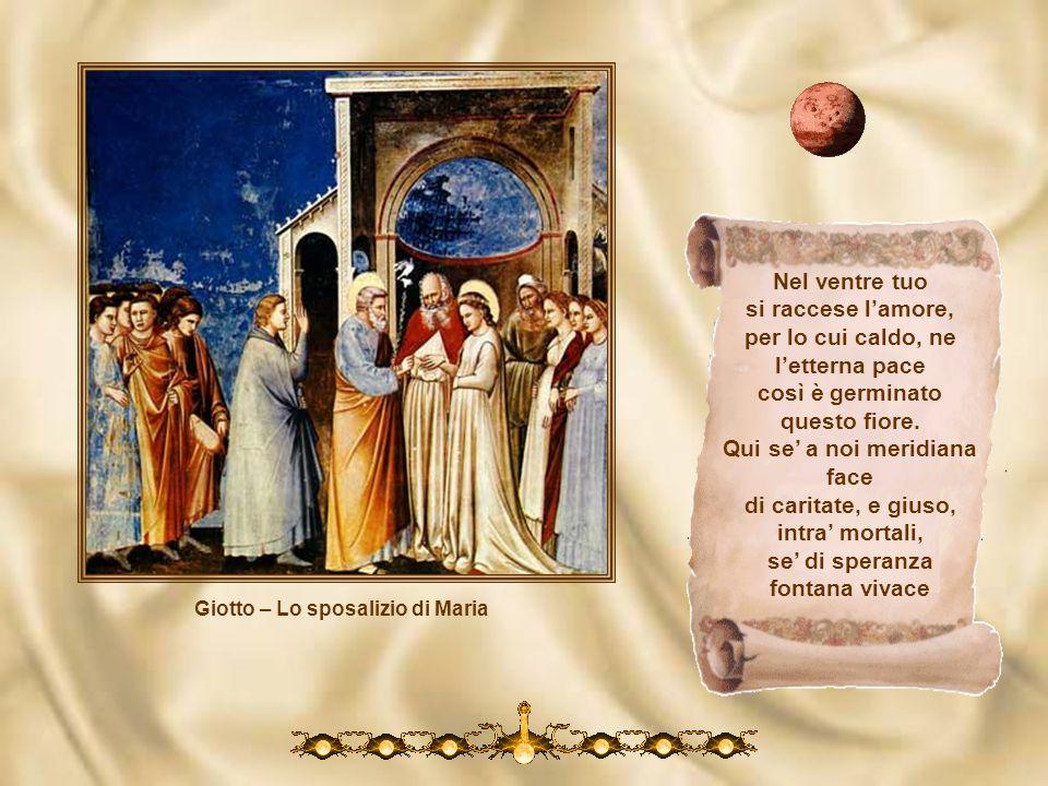 Giotto – Lo sposalizio di Maria