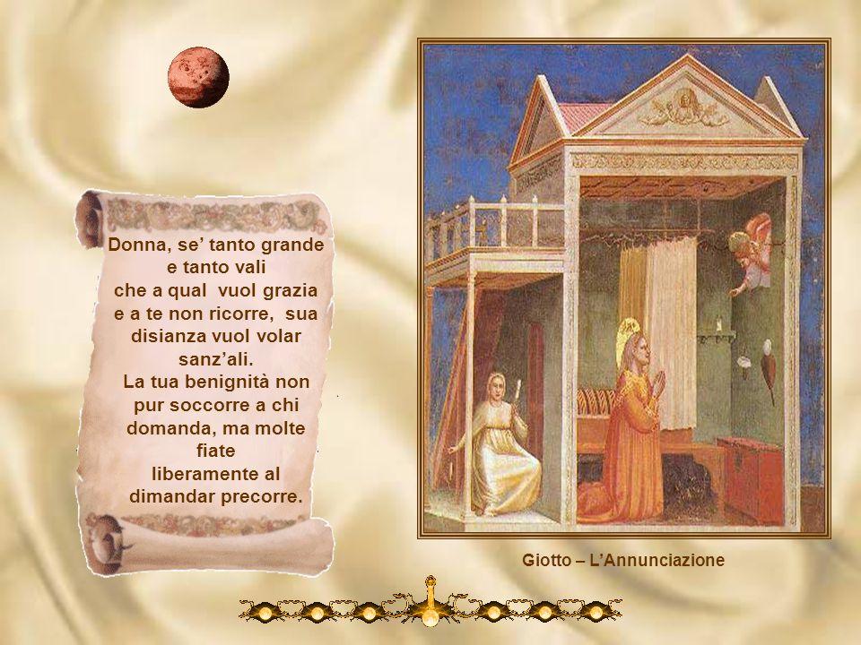 Giotto – L'Annunciazione