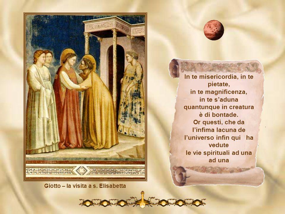 Giotto – la visita a s. Elisabetta