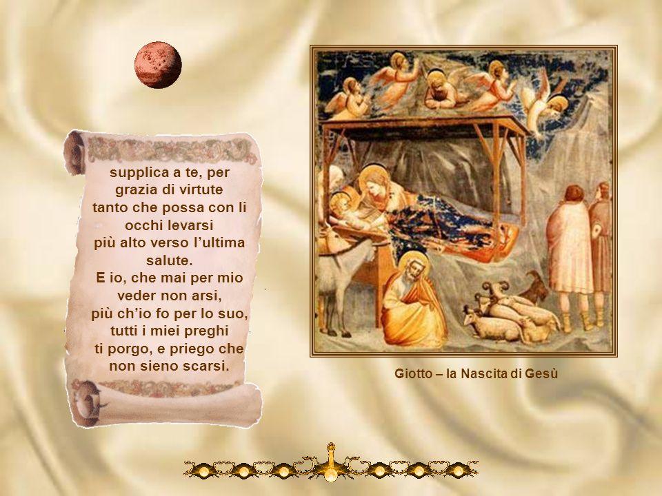 Giotto – la Nascita di Gesù
