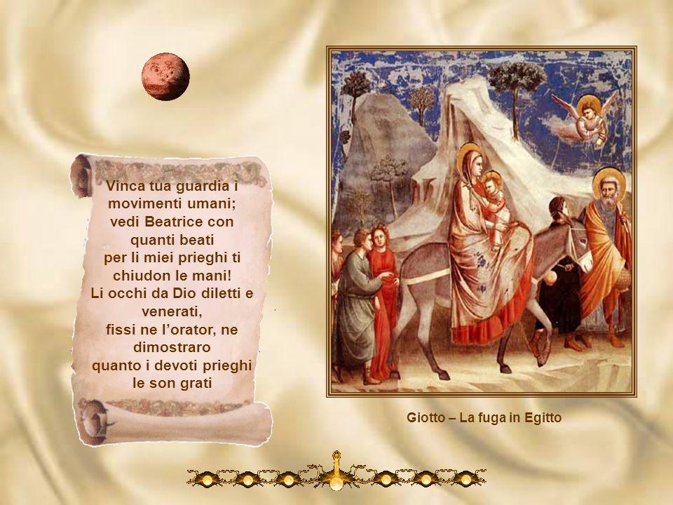 Giotto – La fuga in Egitto