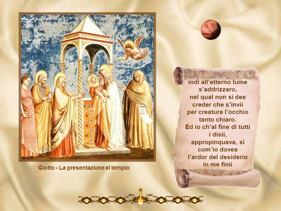 Giotto - La presentazione al tempio