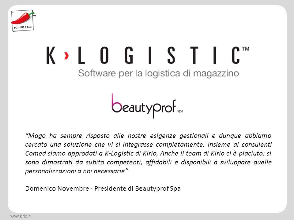 Domenico Novembre - Presidente di Beautyprof Spa