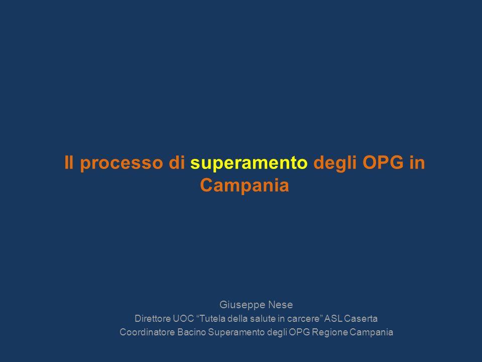 Il processo di superamento degli OPG in Campania