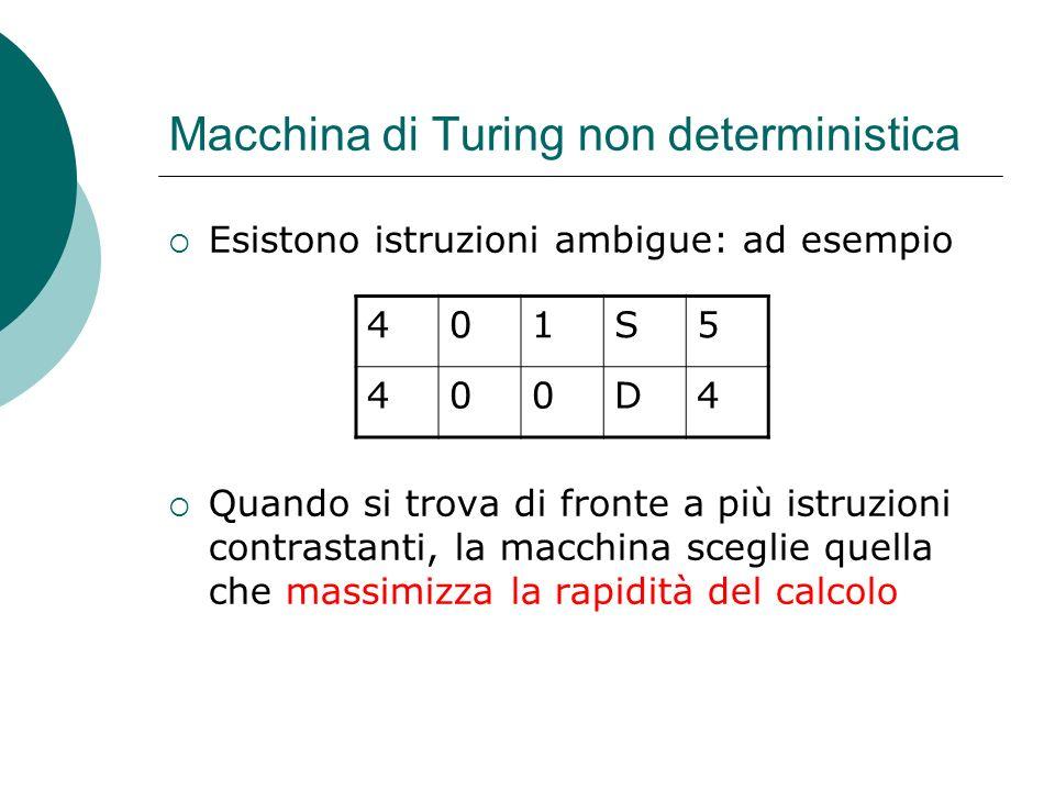 Macchina di Turing non deterministica