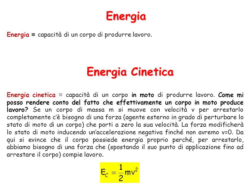 Energia Energia Cinetica