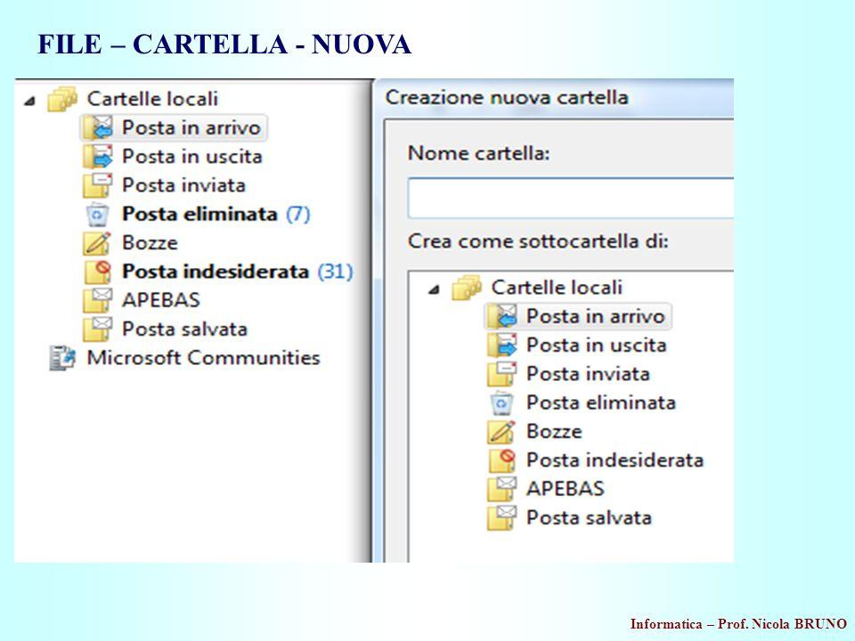 FILE – CARTELLA - NUOVA