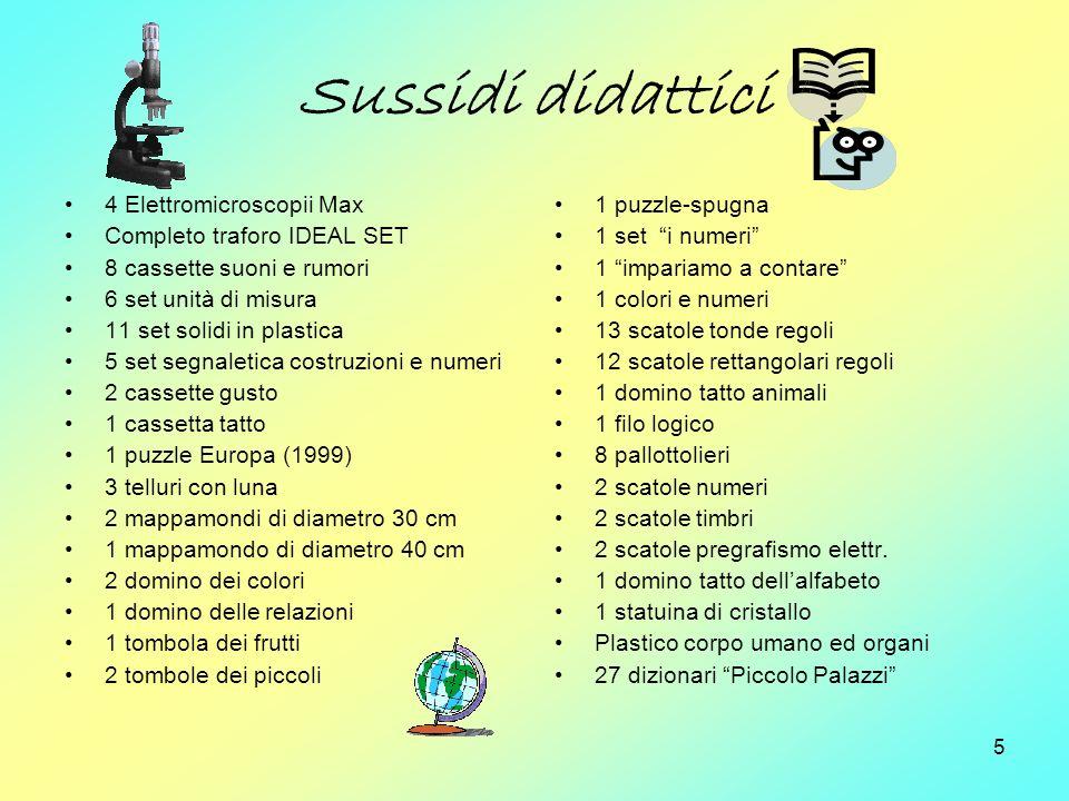 Sussidi didattici 4 Elettromicroscopii Max Completo traforo IDEAL SET