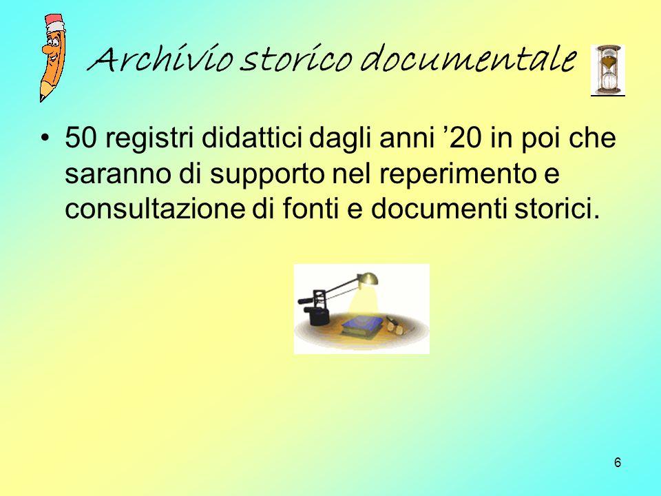 Archivio storico documentale