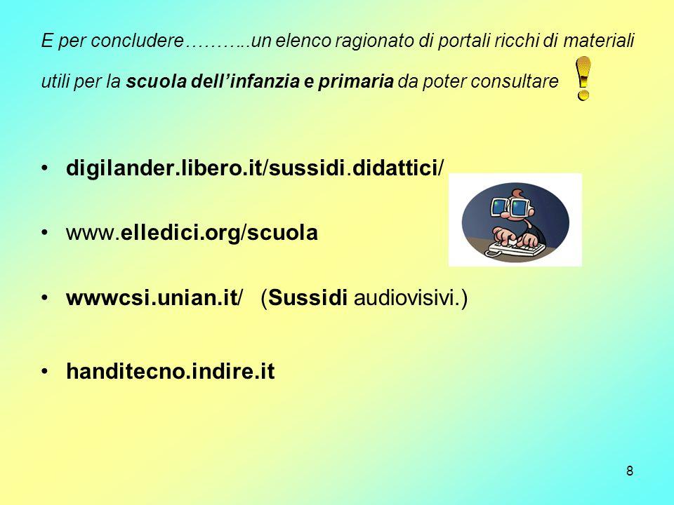 digilander.libero.it/sussidi.didattici/ www.elledici.org/scuola