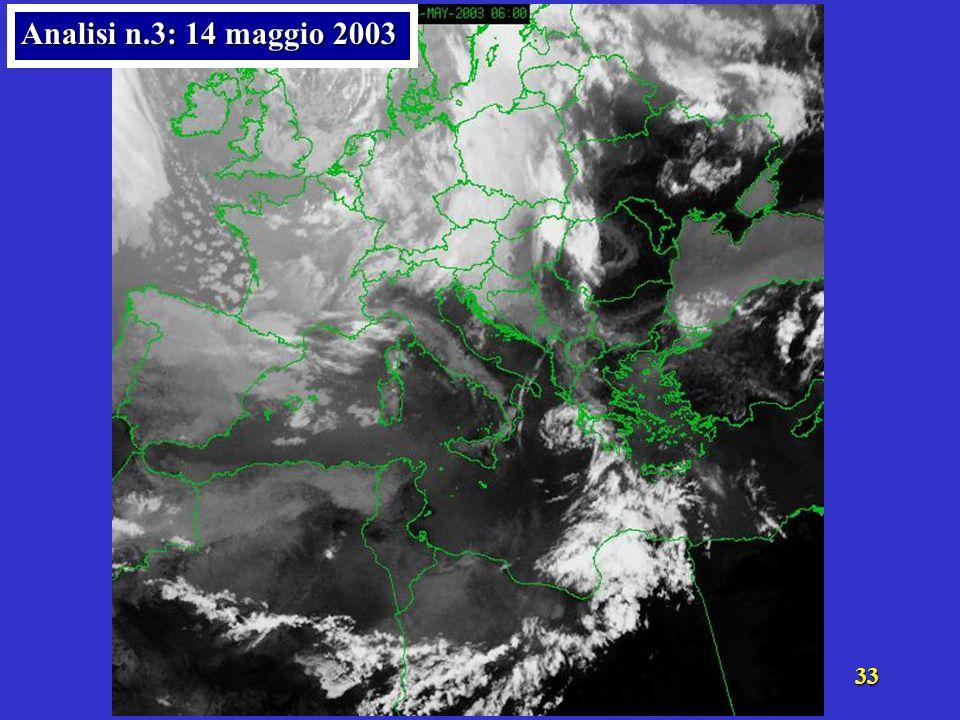 Analisi n.3: 14 maggio 2003