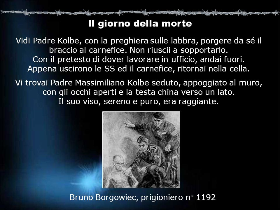 Bruno Borgowiec, prigioniero n° 1192