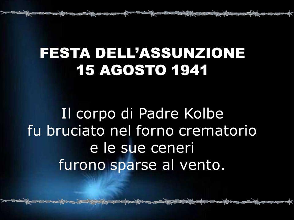 FESTA DELL'ASSUNZIONE 15 AGOSTO 1941