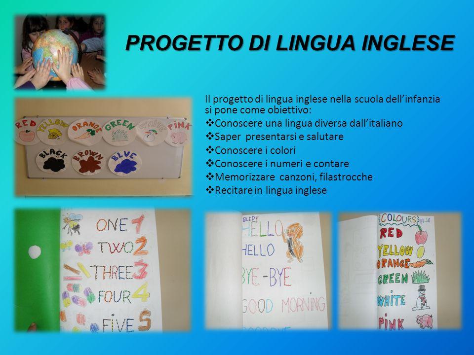 PROGETTO DI LINGUA INGLESE