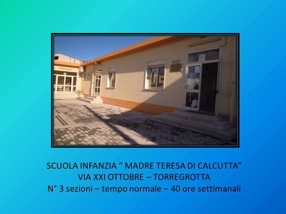 SCUOLA INFANZIA MADRE TERESA DI CALCUTTA
