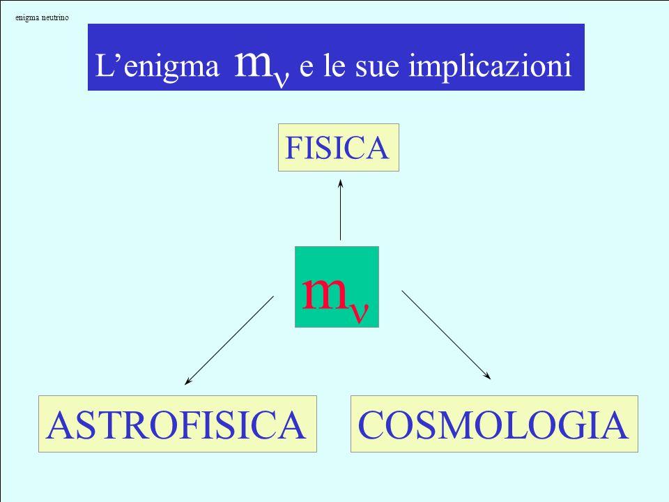 mn ASTROFISICA COSMOLOGIA L'enigma mn e le sue implicazioni FISICA