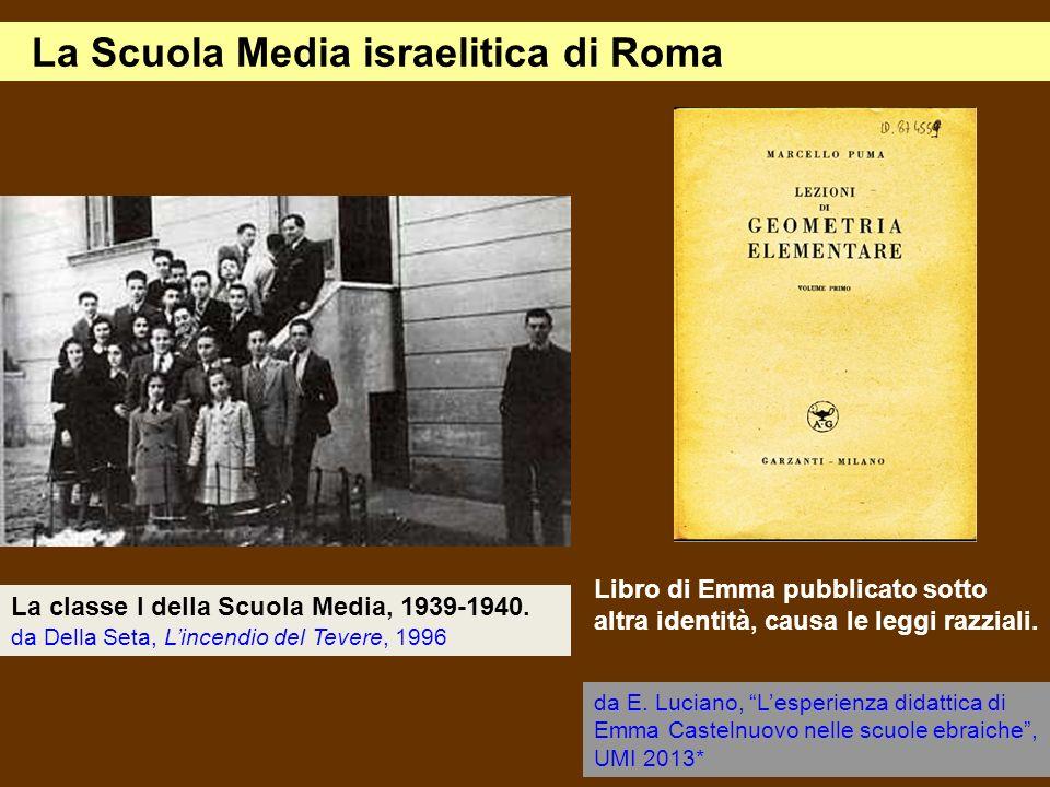 La Scuola Media israelitica di Roma