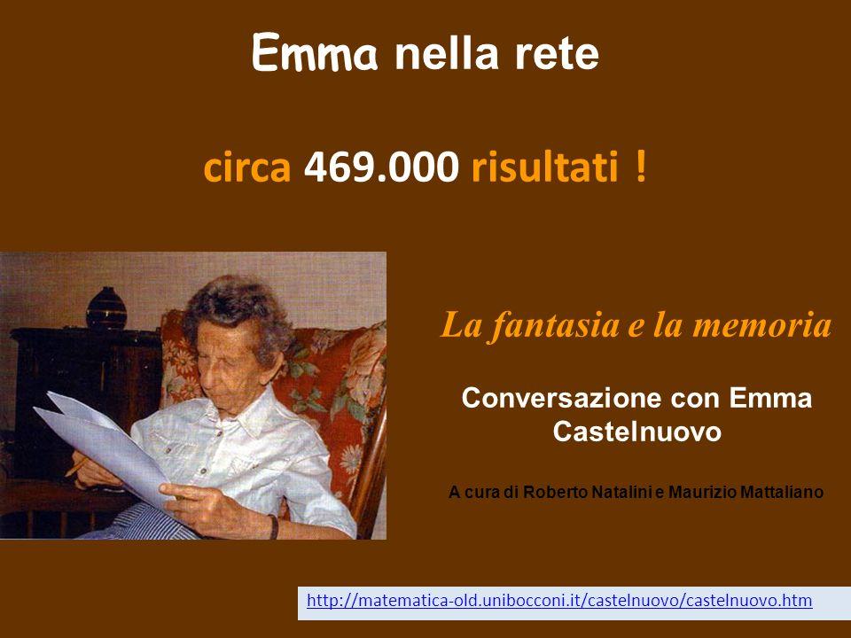 Emma nella rete circa 469.000 risultati !